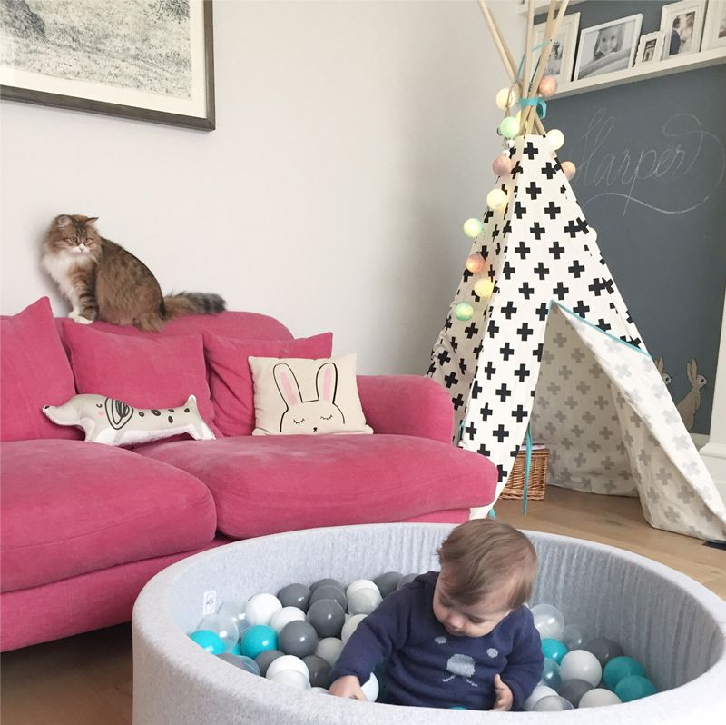 A shared playroom with a cosy feel - by | Playrooms, Cosy and Interiors