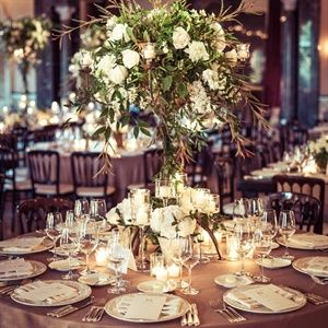 Tall rose and wildflower centerpieces elegant rustic wedding tall rose and wildflower centerpieces elegant rustic wedding junglespirit Image collections