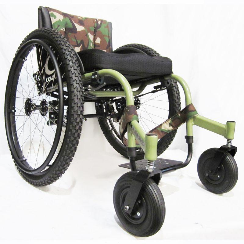 Colours All Terrain RazorBlade Handbewogen OffRoad rolstoel – All Terrain Chair