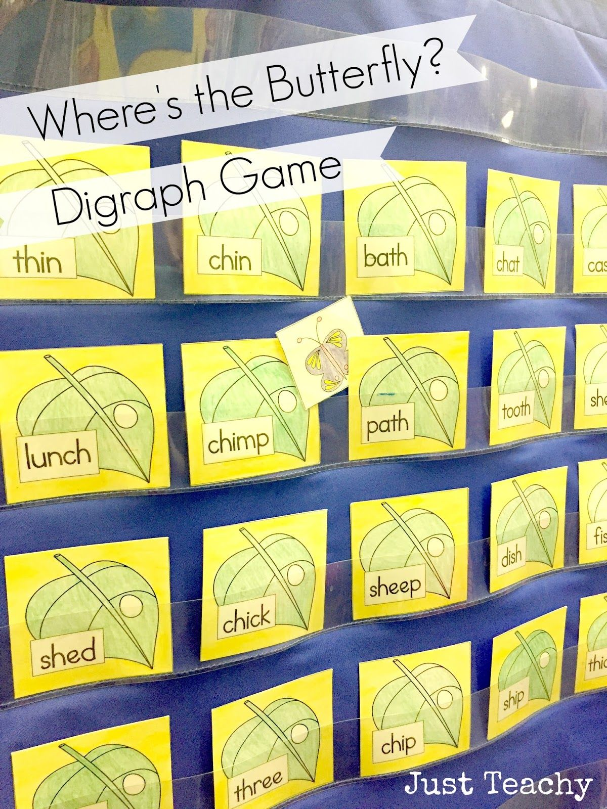 Digraphs, Where\'s the Butterfly? www.justteachy.blogspot.com | Just ...