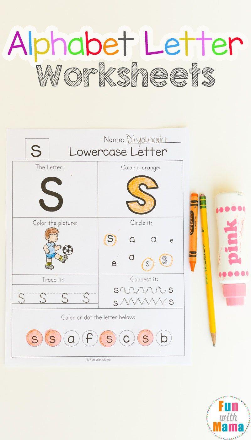 Alphabet Worksheets Alphabet worksheets, Letter
