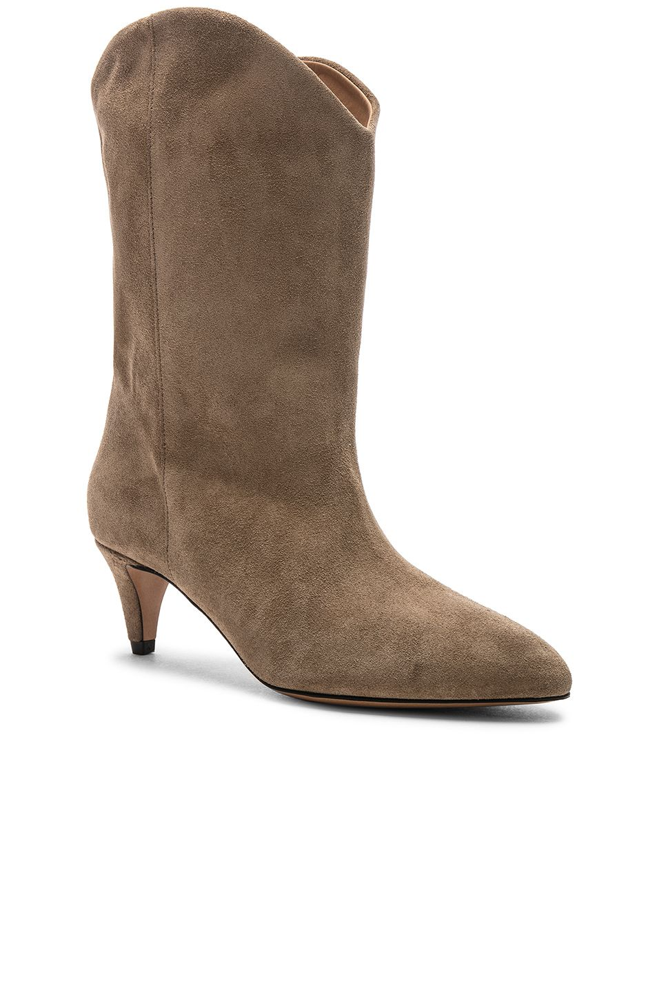 336cb16bdc Image 2 of Isabel Marant Dernee Boot in Taupe | Fashion and ...
