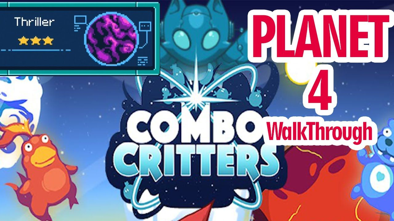 Combo Critters (By Lucky Kat Studios) Planet 4 Thriller - iOS / Android ...