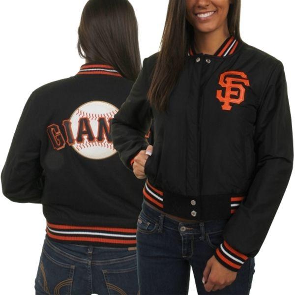 91abba65 I need this! San Francisco Giants Women's Reversible Satin & Wool ...
