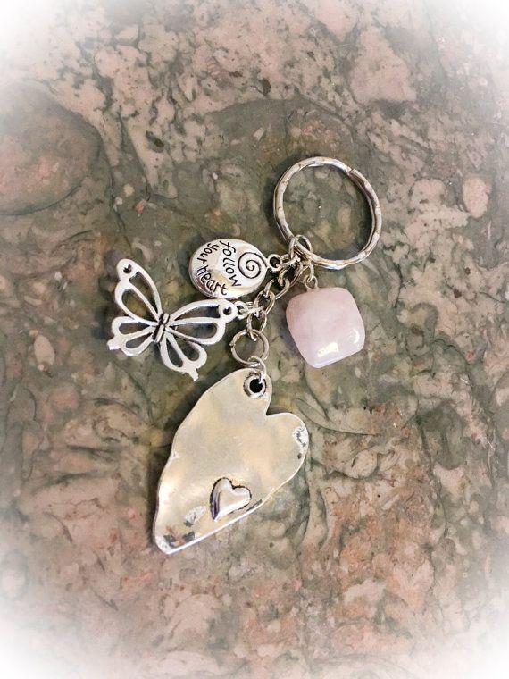 SALESALERose Quartz Crystal Large Pretty by WingsAndThingsbyAlex   Rose quartz crystal, Rose ...