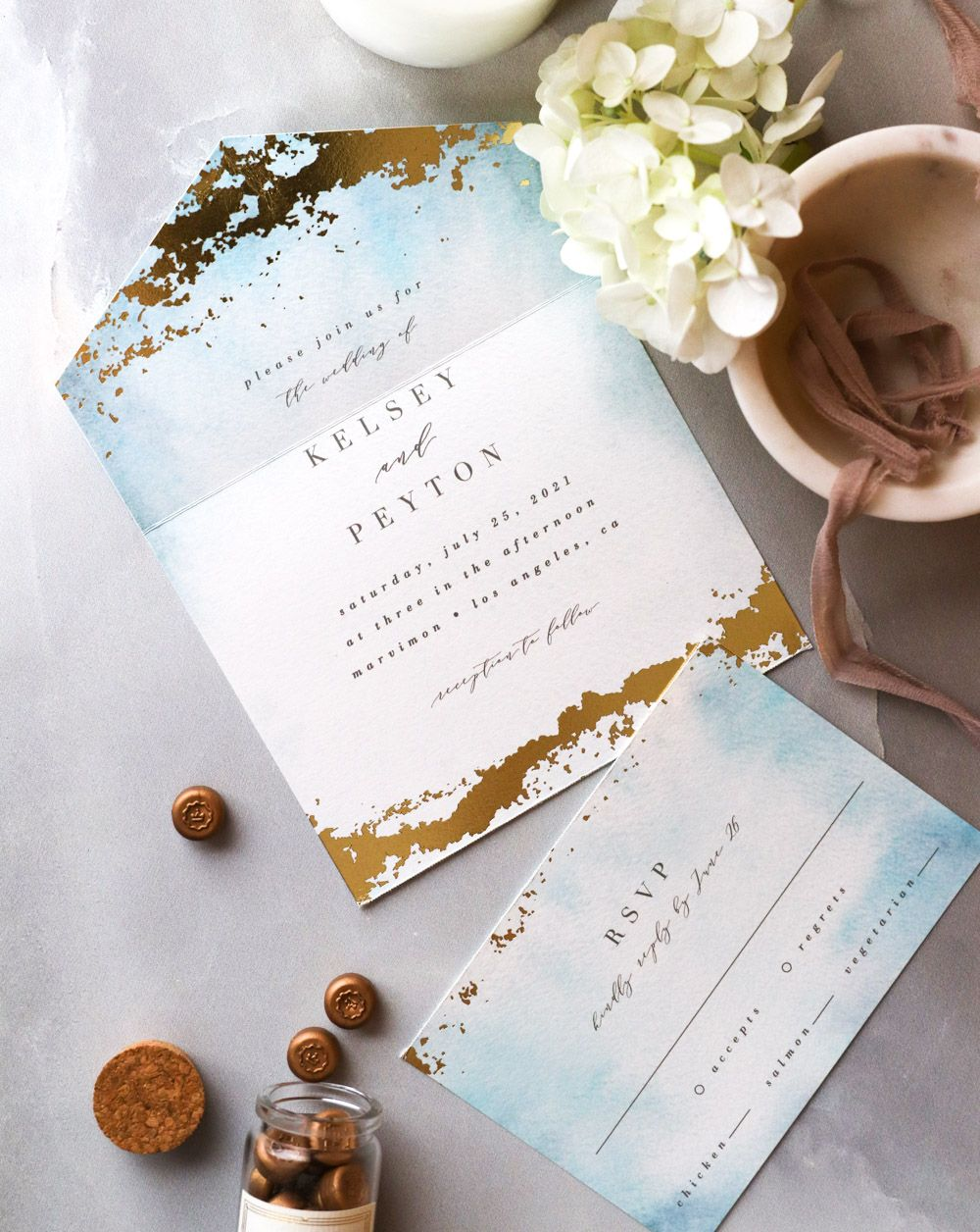 Minted All In One Invitations What Are They How Do They Work And Are They Minted Wedding Invitations Wedding Invitations Labels Wedding Invitation Packages