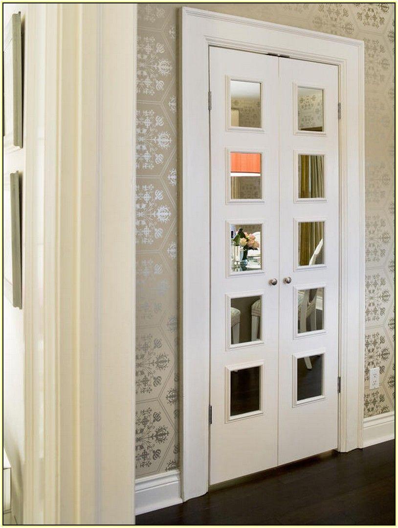 Top 13 Closet Door Ideas To Try To Make Your Bedroom Tidy And Spacious French Closet Doors Closet Door Alternative Mirror Closet Doors