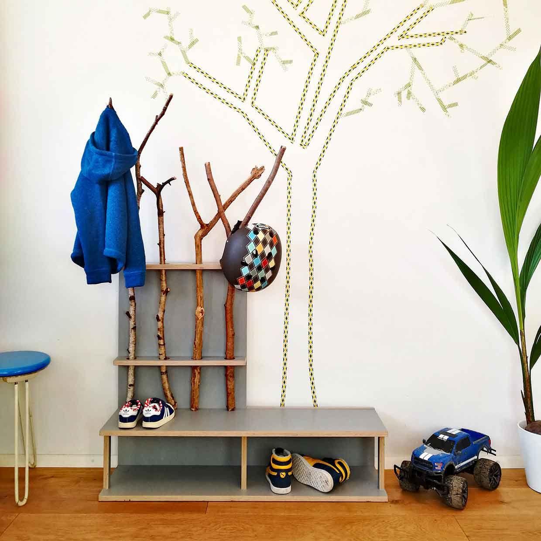 Stammplatz And Stammsitz Wardrobe For Children By Fnurst