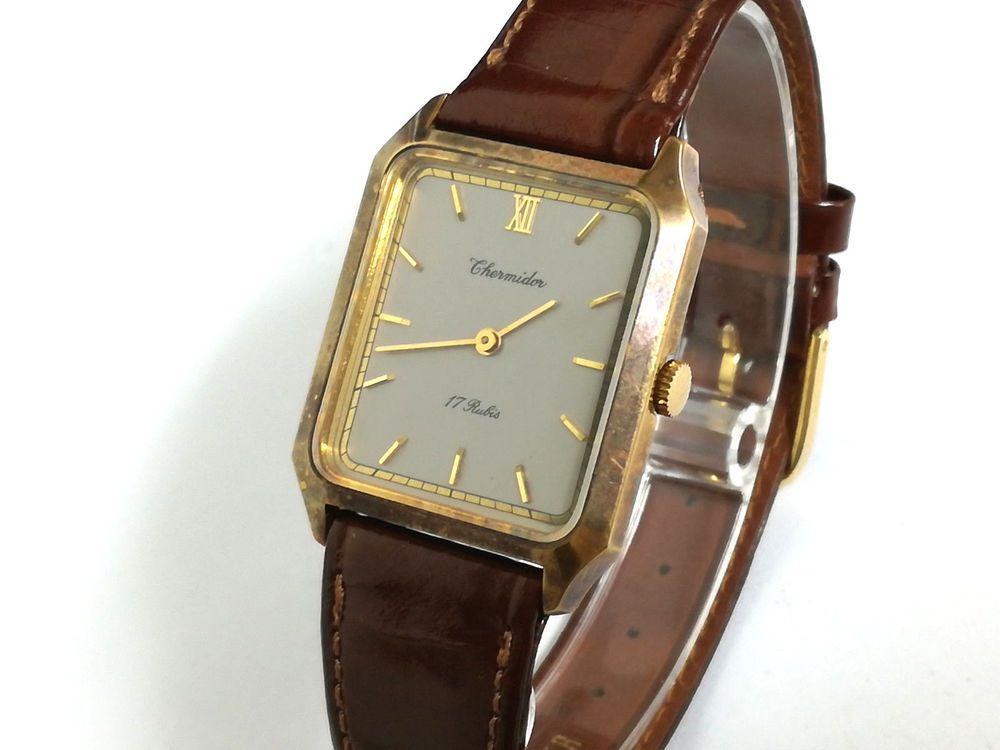 e1620d487196 Reloj pulsera Thermidor 17 Rubís Original Vintage calibre FHF ST 69N de  cuerda