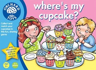 Where's my Cupcake? This is an educational game that emphasises table manners and learning to share while collecting and matching your cupcakes. It contains 10 different types of delicious cupcake cards (total of 40 cards), 4 different colour plate boards, 1 recipe board and 1 instruction leaflets.  Ages 3+