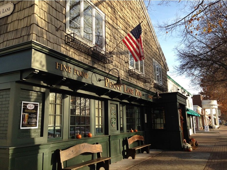 The Penny Lane Pub in Old Saybrook, CT. Old saybrook