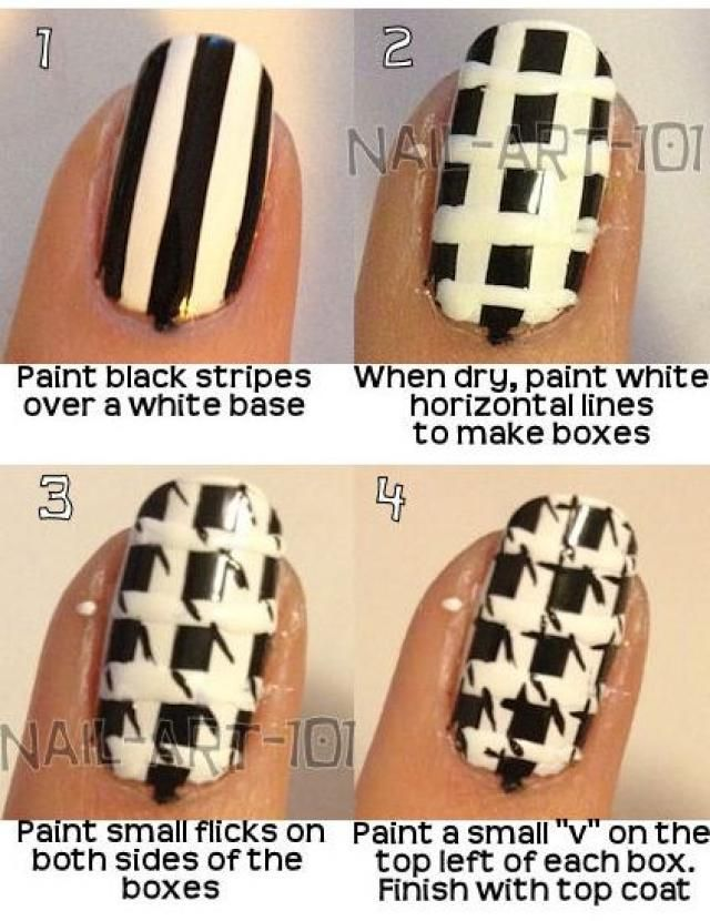 nail designs step by step - Google Search