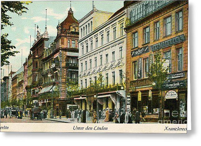 1890s Berlin Unter Den Linden By Heidi De Leeuw Berlin Vintage Photo Prints Street Scenes