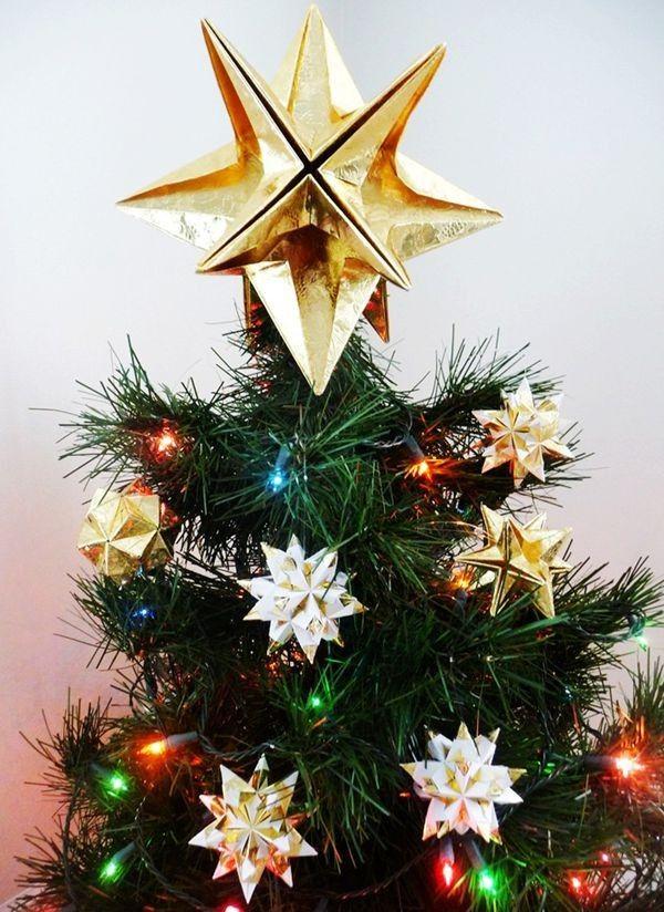 2013 Christmas Tree Topper, Yellow Star Christmas Tree Topper for 2013,  Metallica Christmas Tree - 2013 Christmas Tree Topper, Yellow Star Christmas Tree Topper For