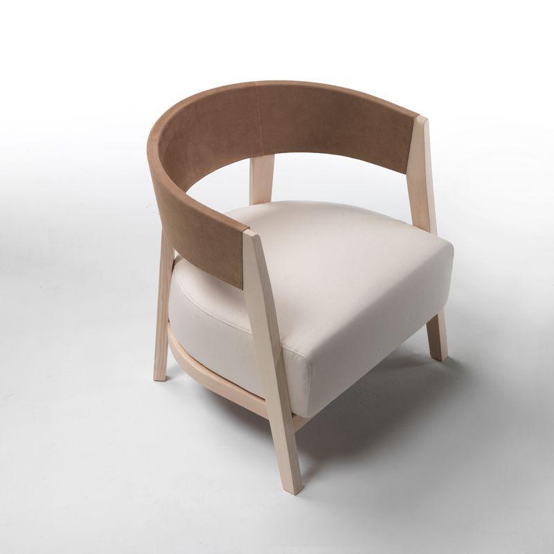 Best Flexform Antony Armchair Style 5B01 Modern Armchair Contemporary White Armchair Leather 400 x 300