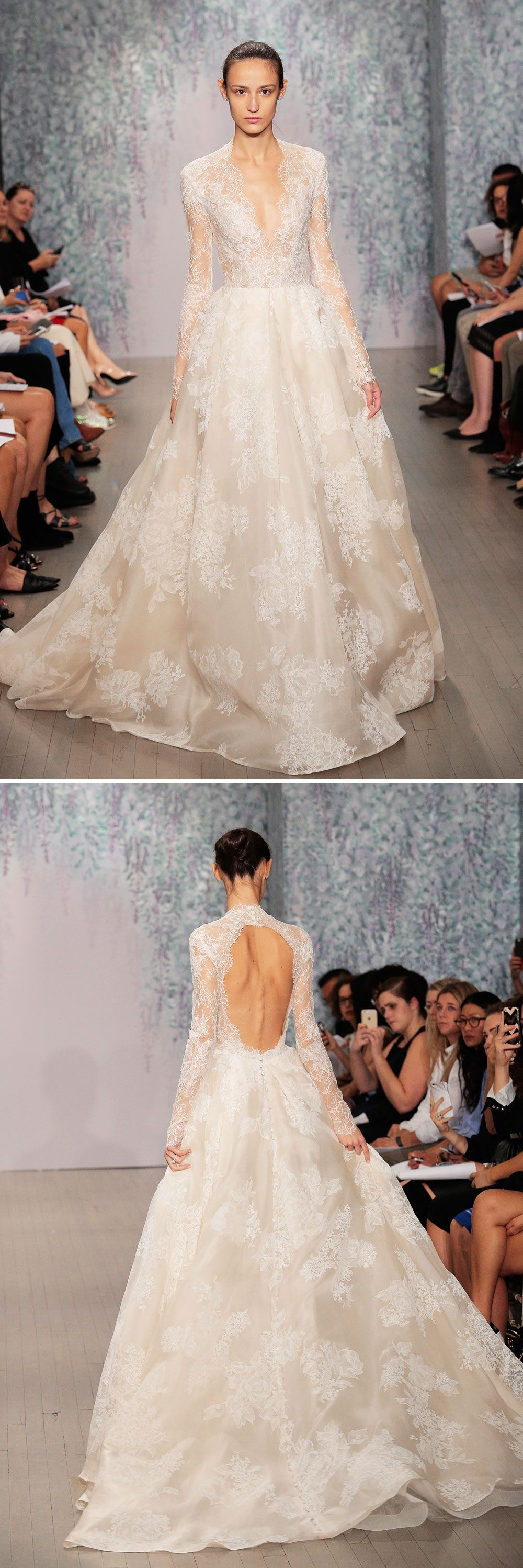 15 Wedding Gowns That Are Even More Gorgeous From the Back | Gowns ...