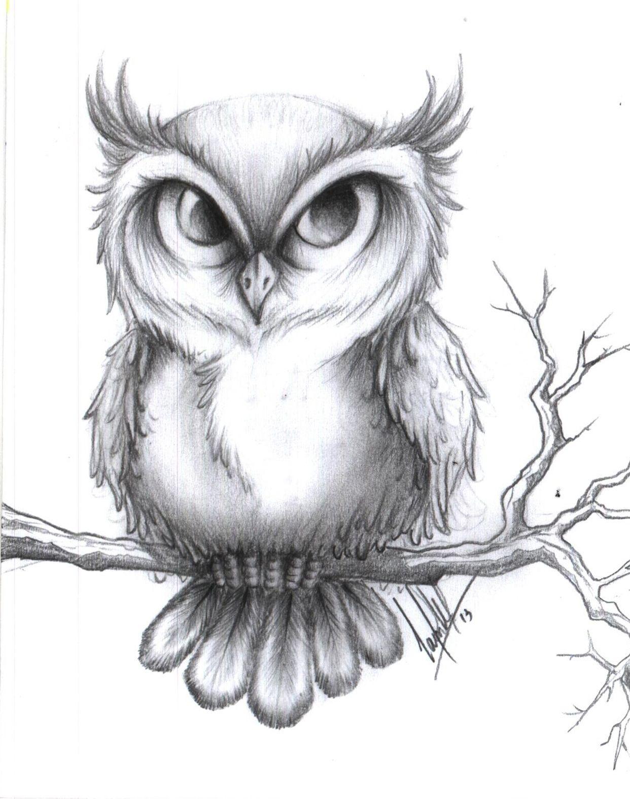 Coruja Com Imagens Coruja Desenho Desenhos De Tatuagem De