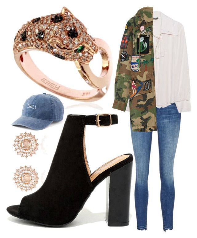 """Untitled #771"" by clothyoulike ❤ liked on Polyvore featuring Nam Cho, Bamboo, Plein Sud, Effy Jewelry, SO and Marc Jacobs"