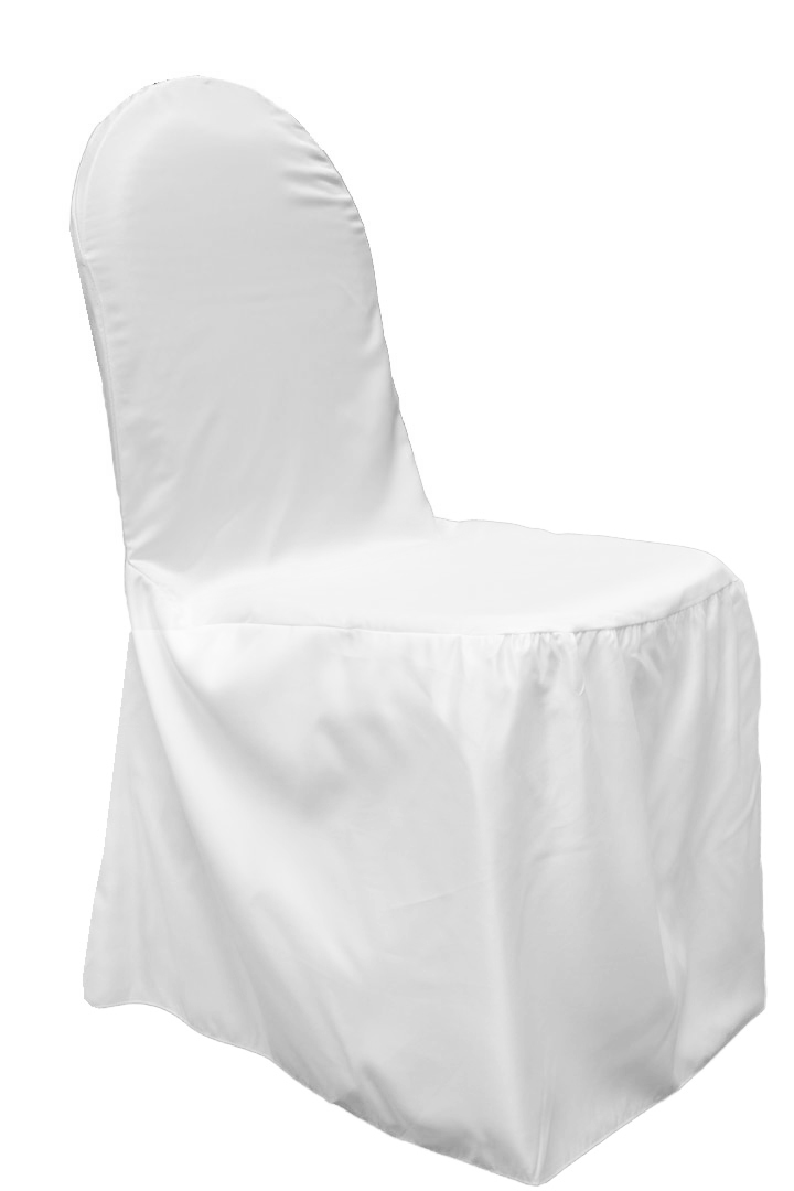 Lamour Satin Banquet Chair Cover White Banquet Chair Covers