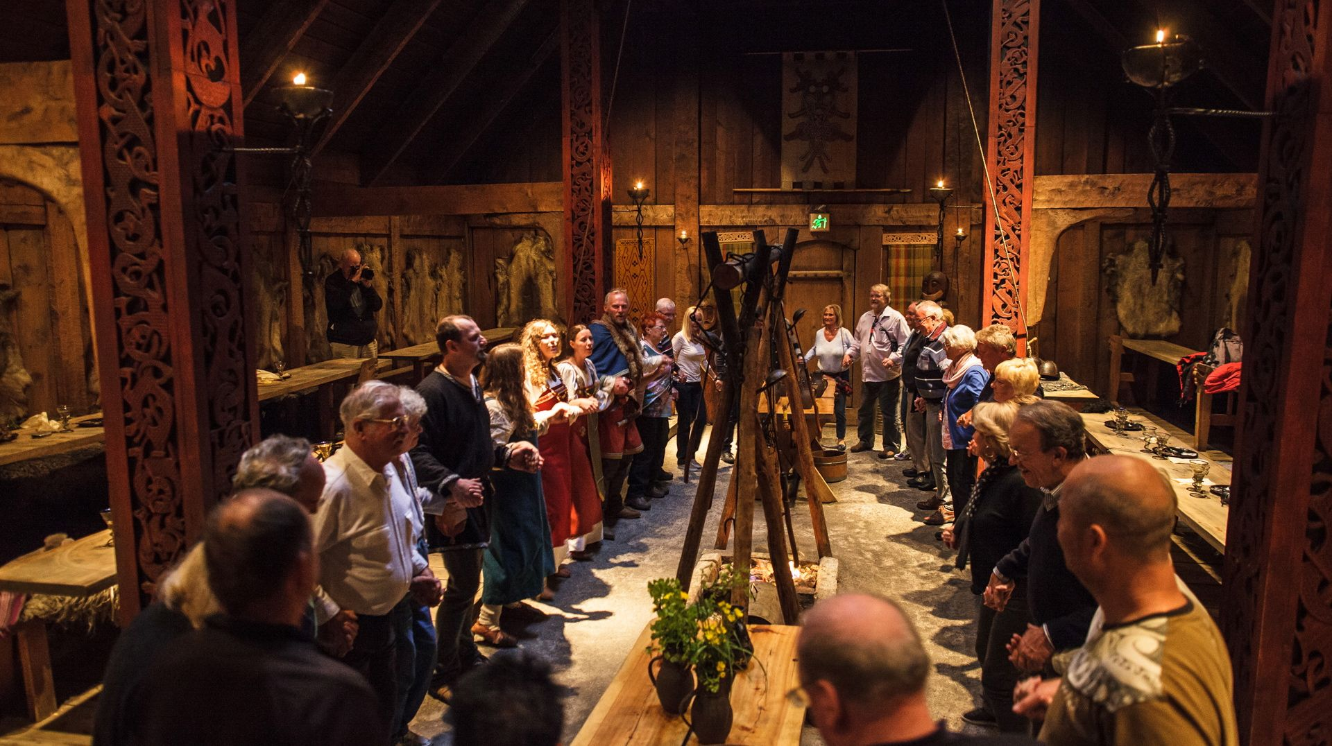 Join Us In A Viking Feast In The Impressive Longhouse At Borg In - Scandinavian museums in us