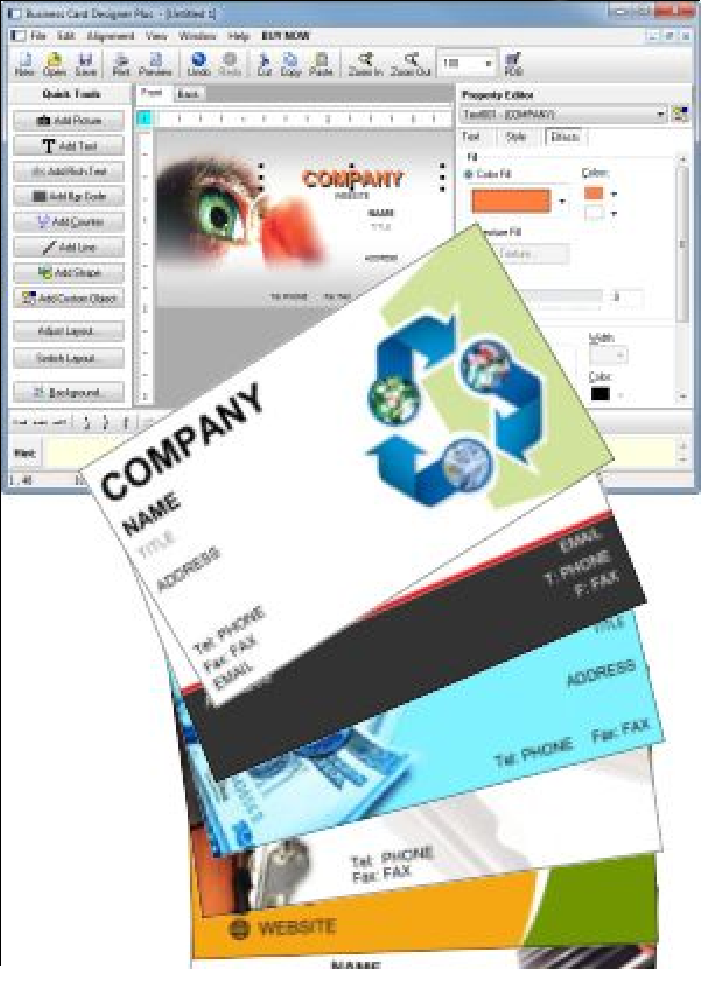 business card designer plus pro v10 full version crack download