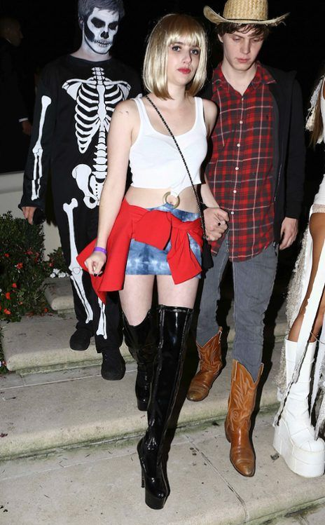 Emma Roberts From Best Celebrity Halloween Costumes Stylish Halloween Costumes Best Celebrity Halloween Costumes Celebrity Halloween Costumes