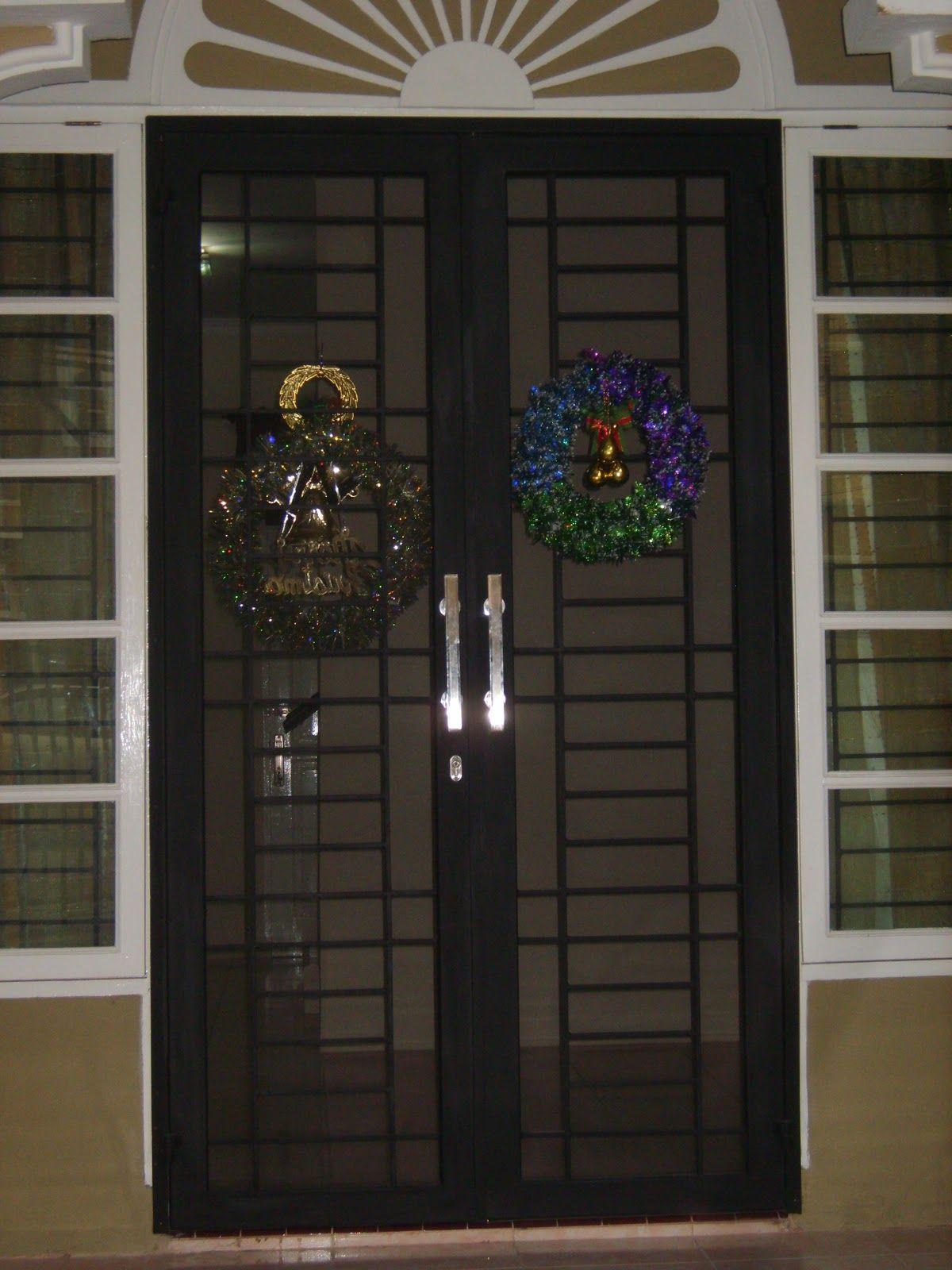 Tralis Minimalis Dan Clasik Gambar Teralis Dan Pintu Besi Window Design Design Architect Design Model teralis minimalis modern
