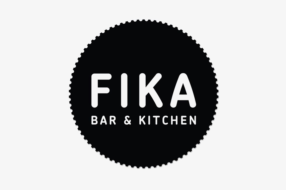 Fika Bar & Kitchen  Designers Anonymous  Design  Logo Custom Kitchen Design Logo Decorating Inspiration