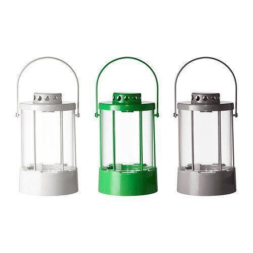 SNÖMYS Lanterna per candela/base metallo - IKEA