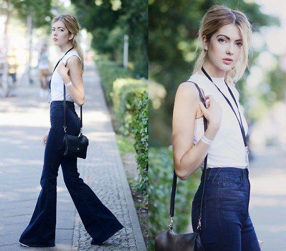La Campana Viste De Nuevo A Tus Pies Moda Jeans Acampanados Moda Femenina