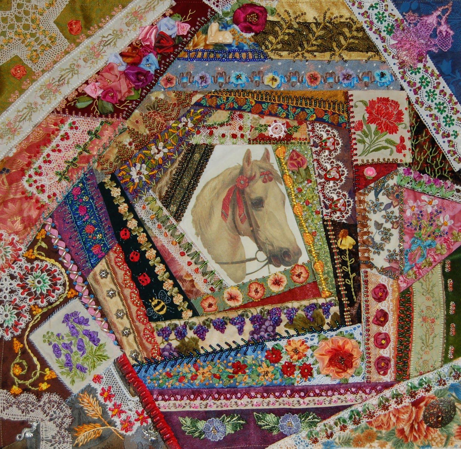 Crazy Quilt Pattern Images : Crazy Quilt Crazy Quilting Pinterest