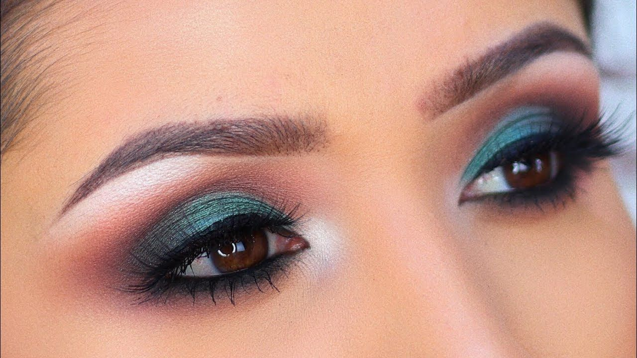 NEW!! The Balm Palette Olive Green Makeup Tutorial