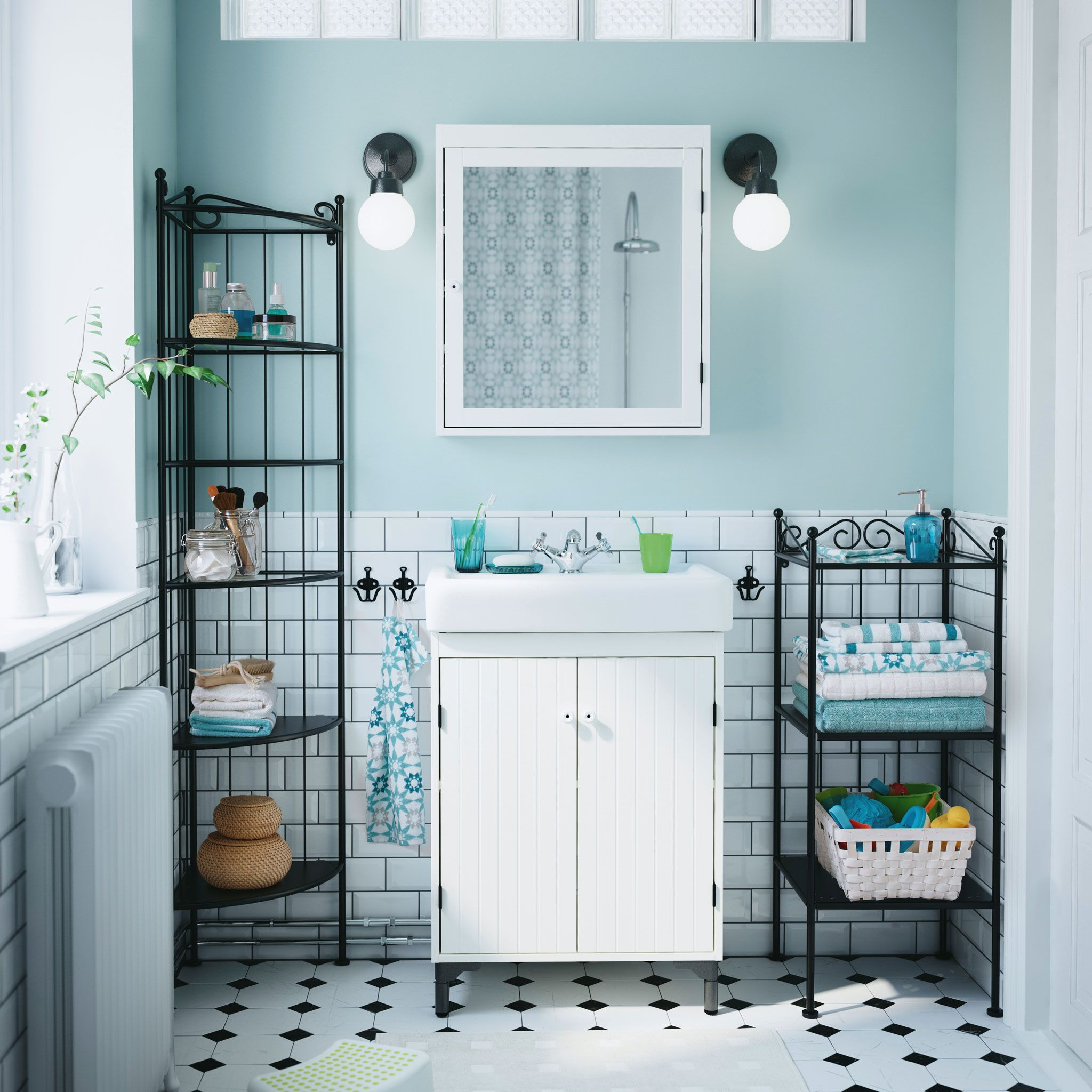 Bathroom Ikea Go Back In Time With Classic Graceful Lines Bathroom