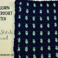 Block Stitch | Let's Learn a New Crochet Stitch