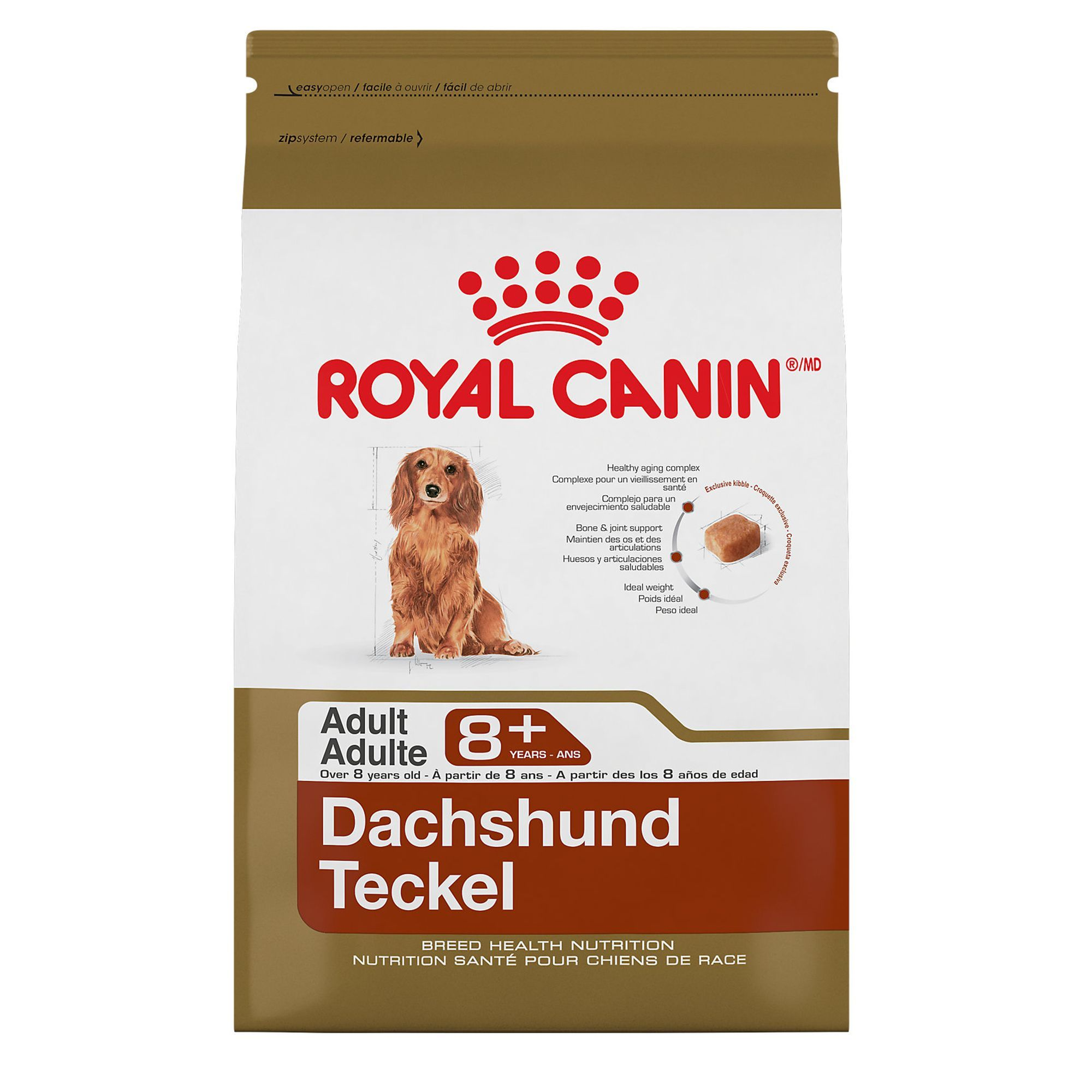 Royal Canin Breed Health Nutrition Dachshund Adult 8 Dog Food