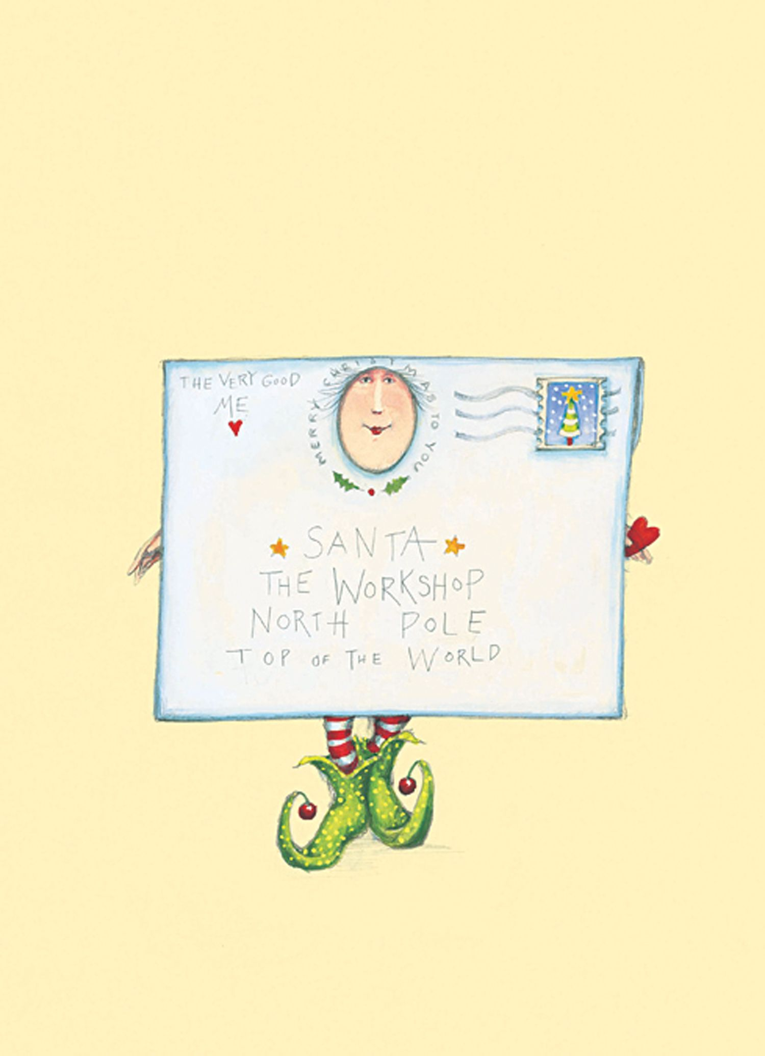 It's time to think about Holiday Cards... by Patience Brewster