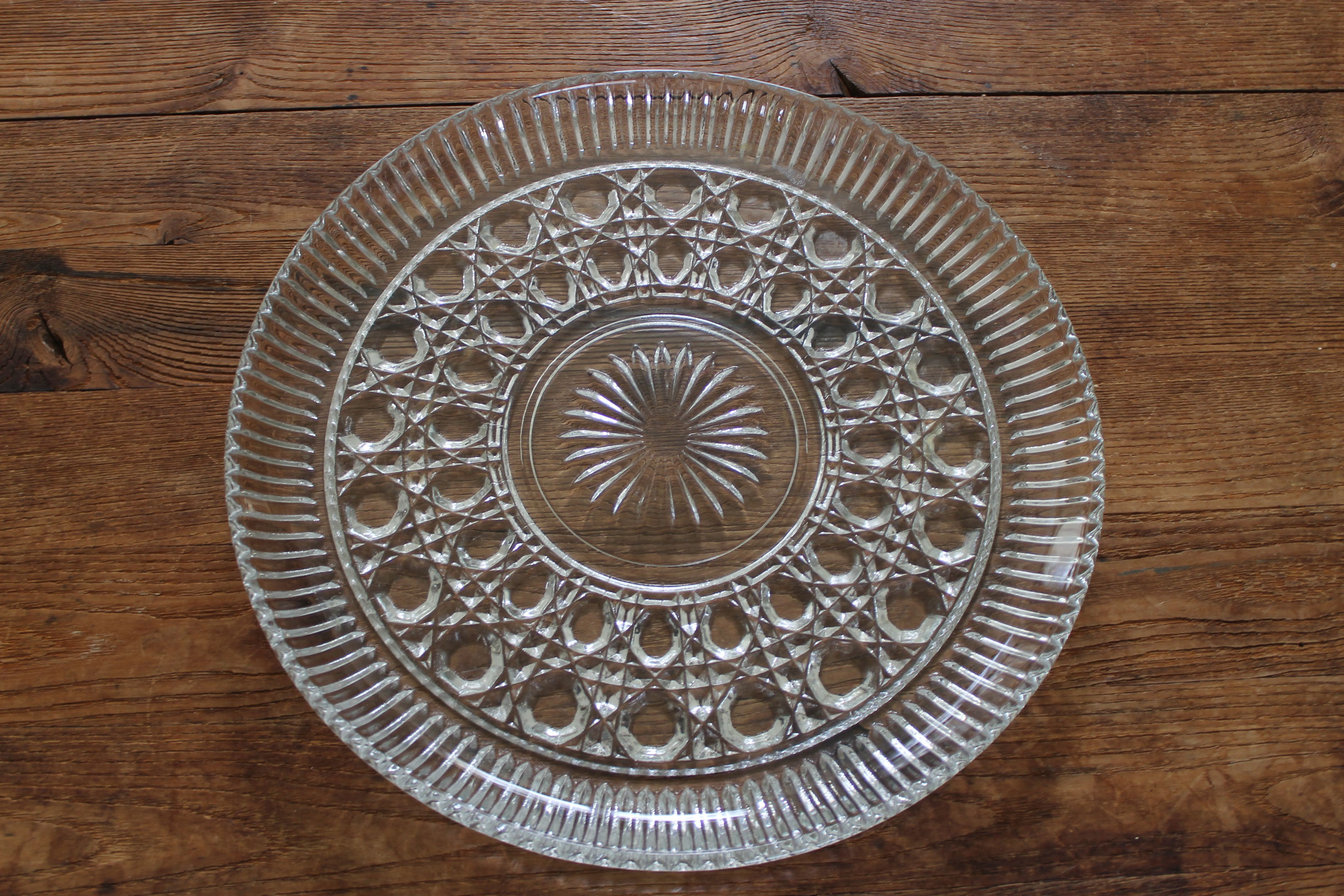 Cake stands and cupcake plates rental collection glass