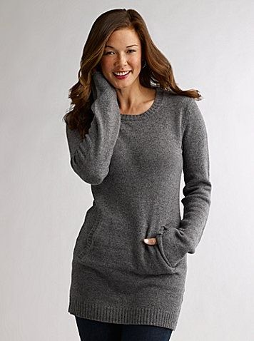 sweaters to wear with leggings | Tunic Sweater with Leggings ...