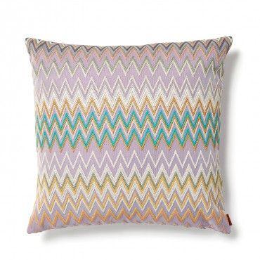 Missoni Lavender Mascal Pillow Gutkin Living Room Home
