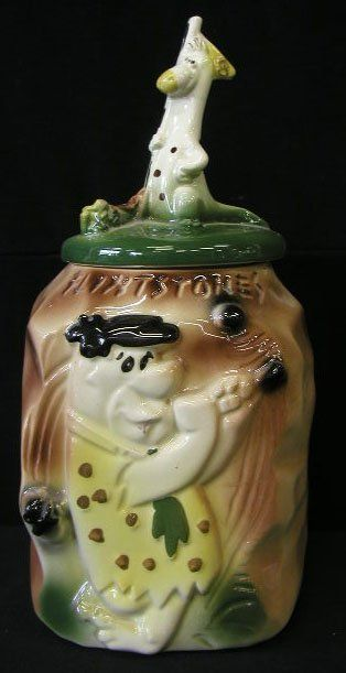 cookie Fred jar flintstone