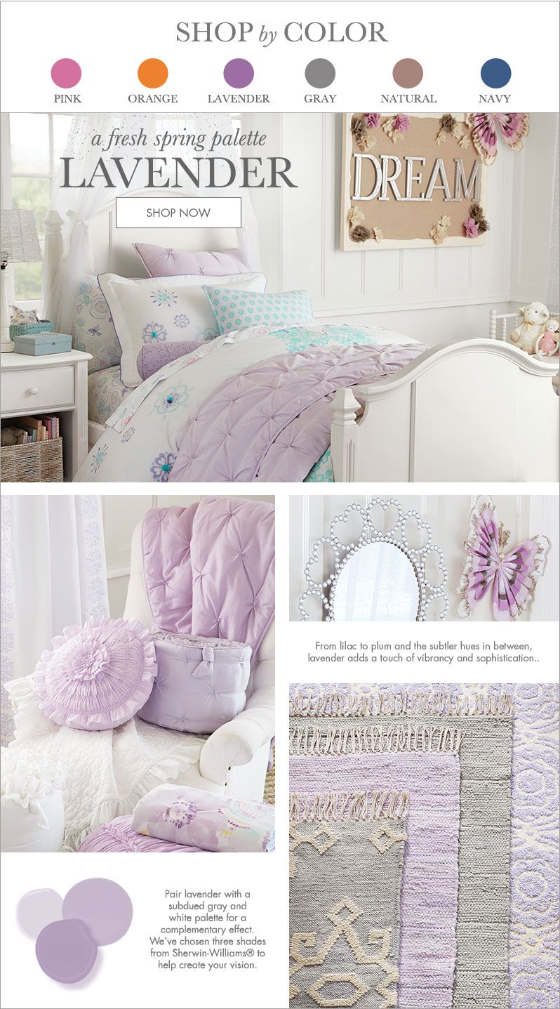 lavender pottery barn kids lavender luv n purple in 2019 rh pinterest ca