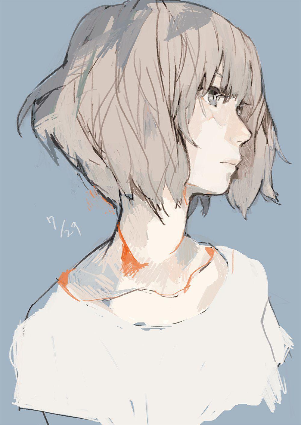 Chicas con pelo corto anime