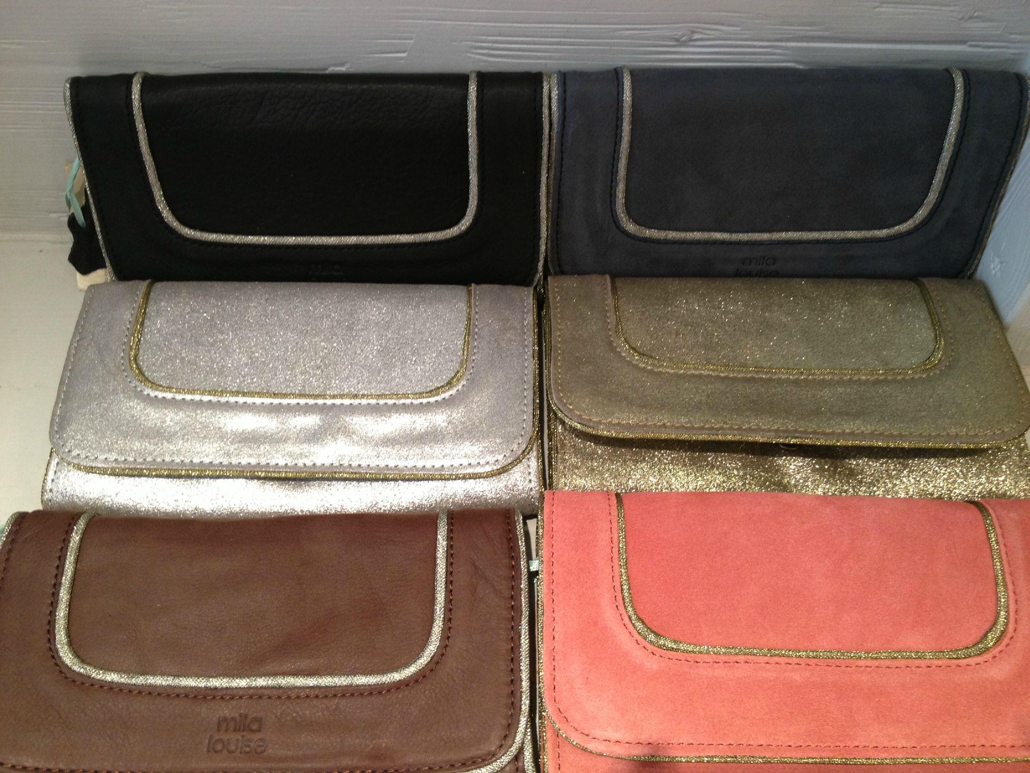 D Ou Vient Le Cuir mila louise portefeuille argent (avec images)   sac