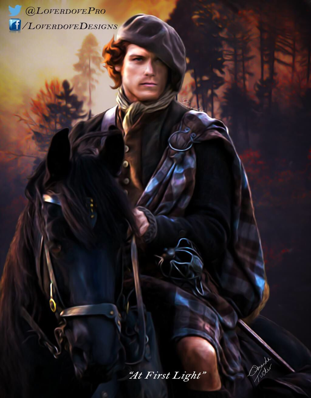 At First Light by Loverdove Design Jamie fraser