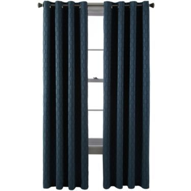Studio™ Luna Grommet-Top Blackout Curtain Panel - JCPenney