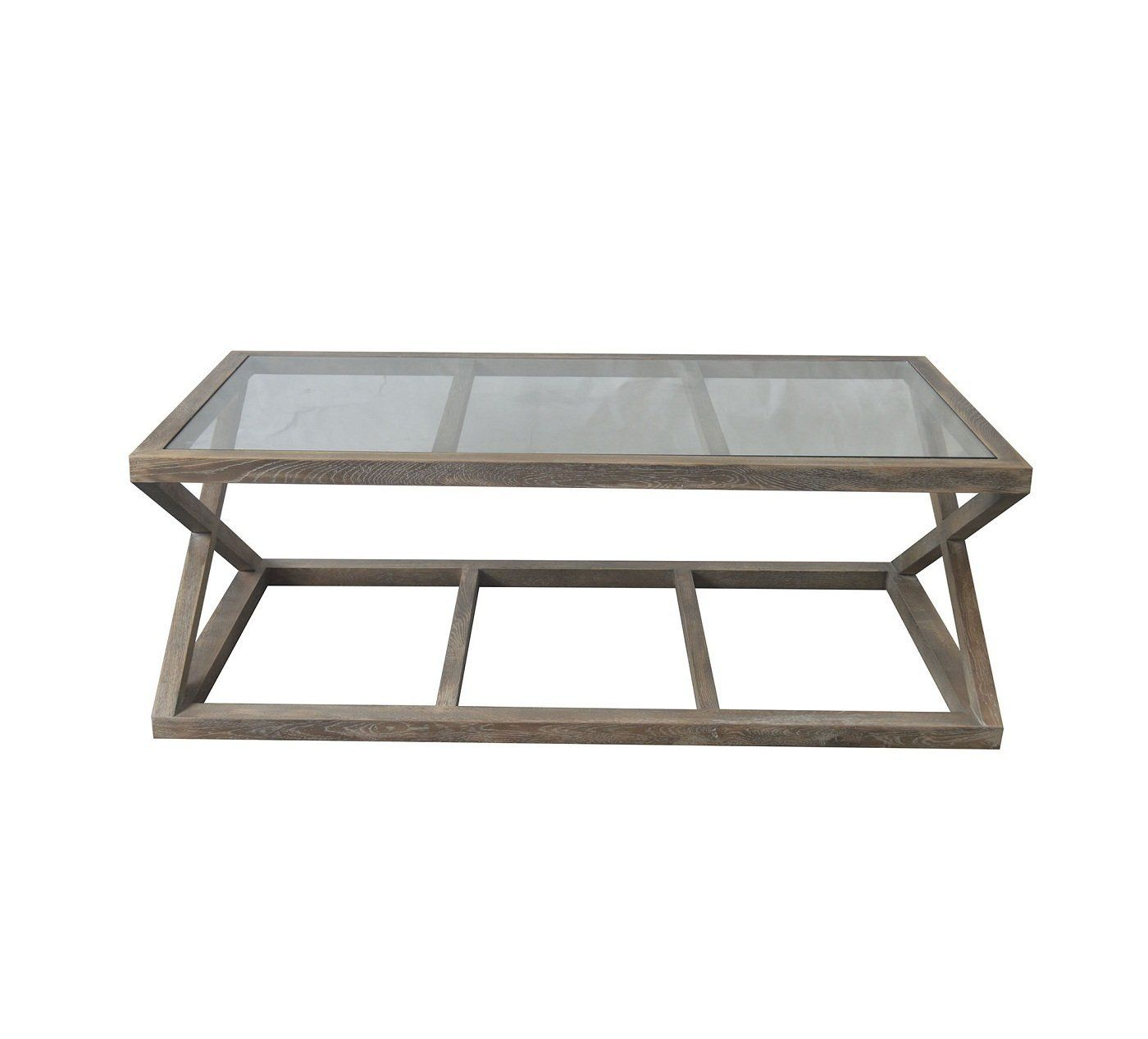 Valencia Glass Top Coffee Table White Washed Oak Allissias Attic Vintage French Style Coffee Table Glass Top Coffee Table Coffee Table White [ 1267 x 1400 Pixel ]