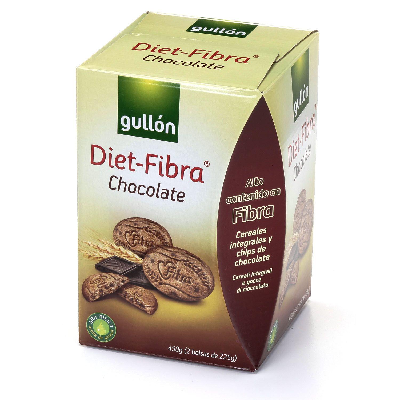 Diet Fibra Chocolate Gullon Eroski 1 Unidad 0 5 Puntos
