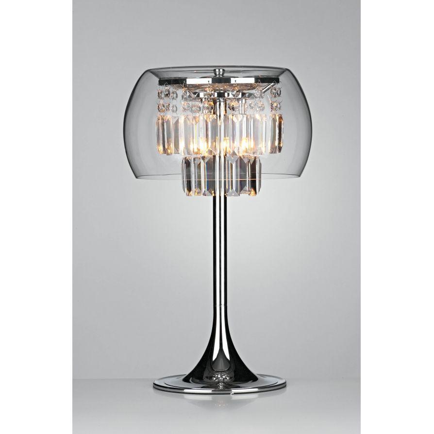 Contemporary lamps table lamps dar dar loc4008 loco 3 light modern table lamp