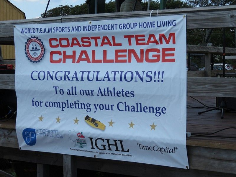 World T.E.A.M Sports & Independent Group Home Living (IGHL) --  2nd Annual Coastal Team Challenge a Success!