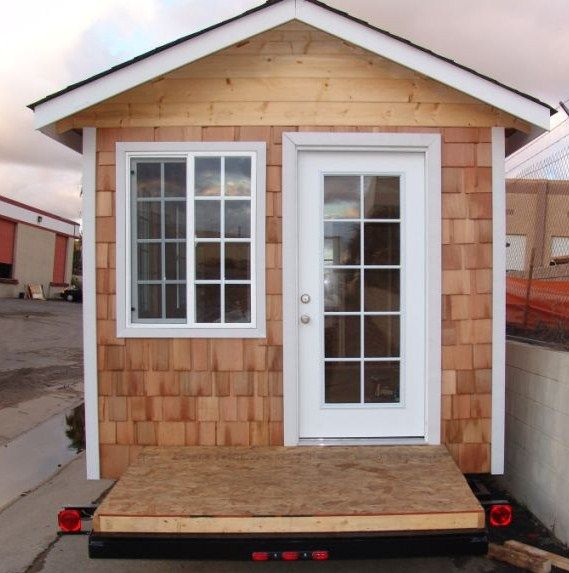 Cute prefab small home small homes pinterest small for Prefab guest homes